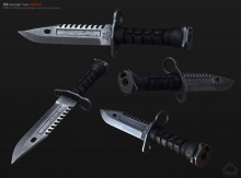 M9 bayonet for Arma3 Skin preview