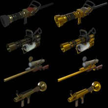 New Australium Effect Skin preview