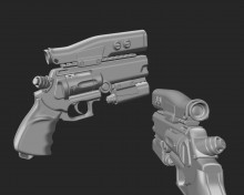 Weapons that came from space Model preview