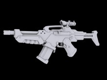 AR-41 Concept Rifle Model preview
