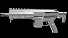SIG MPX High Poly preview
