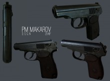 Makarov Skin preview