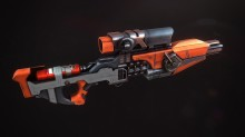 Energy rifle texturing WiP Spray preview