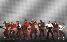 TF2 Character retextures Skin preview