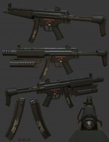 Mp5 EOD Project preview