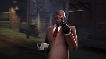 Spy First Person Animation Overhaul Skin preview