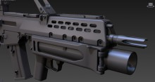 G36 High Poly Skin preview