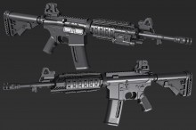 M4A1 Model preview