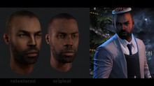 Payday 2 Heisters Face Retextures Skin preview