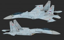 Su-27M Serial Production Model Skin preview