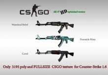 CS:GO AK47 HD skins for cs 1.6 preview