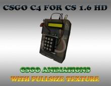 CS:GO C4 BOMB HD SKIN WiP preview