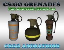 CS:GO Grenades HD SKINS WiP preview