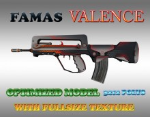 CS:GO Famas HD Skins (CS1.6) Skin preview