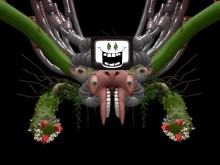 my_world - Omega Flowey boss fight WiP preview
