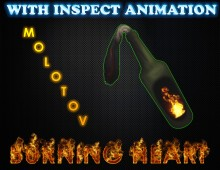 Molotov Burning Heart Skin preview