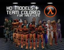 Half life characters ver. HQ + Team colored preview