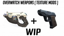 Overwatch weapon mods (TF2) WiP preview