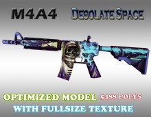 CS:GO M4A4 HD Skins (CS1.6) WiP preview