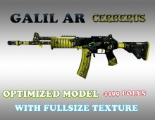 CS:GO Galil AR HD skins for cs 1.6 Skin preview