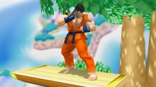 Goku Moveset Over Ryu WiP preview