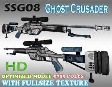 CS:GO SSG08 HD skins for cs 1.6 preview