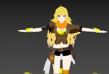 YANG xiao long model import preview