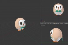 Rowlet WiP (Some help needed) preview