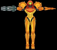 Prime Samus model import preview