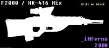 HK 416 / F2000 Mix (Request) Skin preview