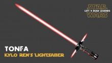 Kylo Ren Lightsaber preview