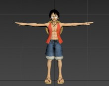 Monkey D. Luffy preview