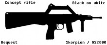 Concept Rifle - NS200 / Skorp Skin preview