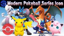 Modern Pokeball Series Icon preview