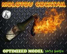 CS:GO Molotov optimized skin Skin preview