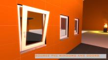 PVC window and door models preview