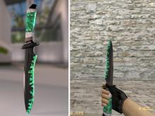 badlands bowie knife default cs knife new skin Skin preview