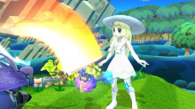 Collab: Lillie and Cosmog to Rosalina Clone[WIP] preview