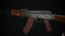 AK74 Texturing preview