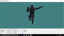 Retextured enhance SAS csgo model in cs 1.6 preview