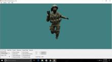 Enhanced IDF player csgo model for cs 1.6 preview