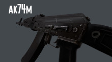 AK74M animation preview