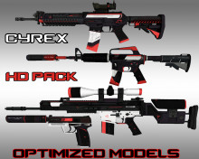 CYREX Pack HD skins preview
