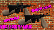 M16A2 hack for famas preview