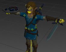 Link (Breath of the Wilds skin) preview