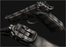 M92 'Retta Camo WIP Skin preview