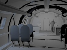 Plane model WIP Map preview