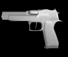 Desert Eagle WiP preview