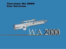 WA 2000 Cod Imitation WiP preview
