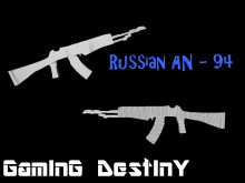 Russian AN - 94 (model) WiP preview
